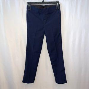 Isaac Mizrahi Boys Slim Fit Blue Dress Pants Size8